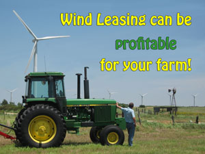 Wind Leasing can be profitable for your farm!